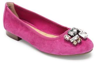 Me Too Sapphire Crystal Embellished Flat - Wide Width Available
