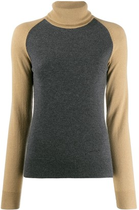 Givenchy contrasting sleeve jumper