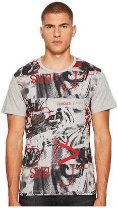 Versace Graphic Tee Shirt