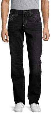 True Religion Straight-Fit Flap-Pocket Jeans