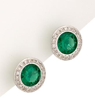 Diana M Fine Jewelry 14K 1.27 Ct. Tw. Diamond & Emerald Studs