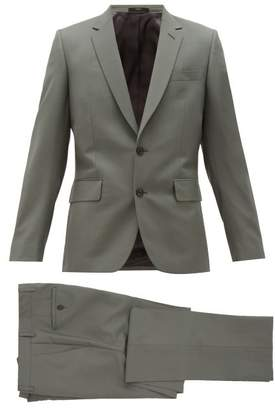 Paul Smith Soho Single Breasted Wool Blend Suit - Mens - Green