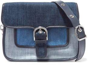 MICHAEL Michael Kors Paneled Denim Shoulder Bag