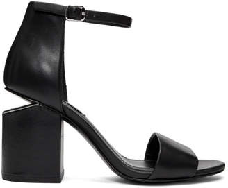 Alexander Wang Black Abby Heel Sandals