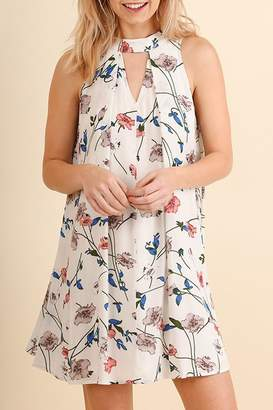 Umgee USA Floral Sleeveless Dress