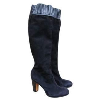 Vanessa Bruno Black Suede Boots