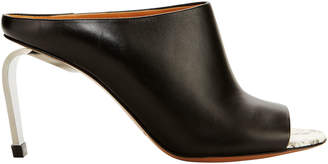 Robert Clergerie Maevaw Leather Mules