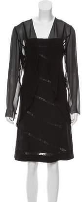 Chanel Silk Dress Set