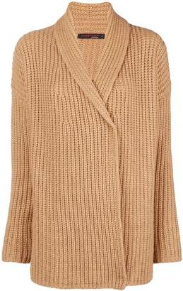 Incentive! Cashmere wrapped front cardigan