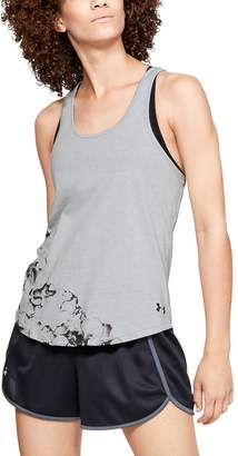 Under Armour Women's UA Ink Formation Graphic Crossback Tank