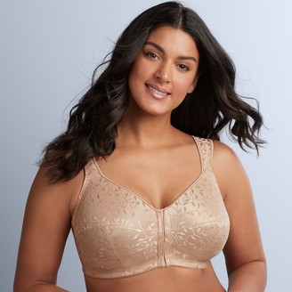 Just My Size Bras: 2-pack Front Closure Full-Figure Wire-Free Bra MJP110