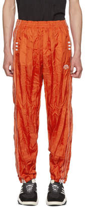 adidas By Alexander Wang by Alexander Wang Red AdiBreak Lounge Pants