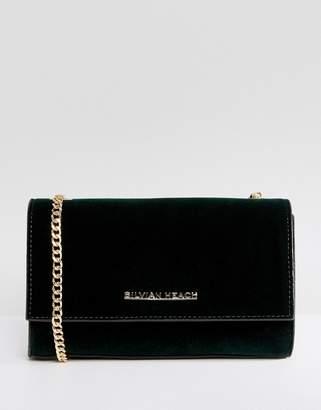 Silvian Heach Velvet Crossbody Bag
