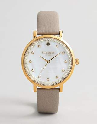 Kate Spade KSW1131 Women's Monterey Leather Watch