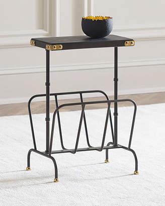 Matthew Side Table/Magazine Rack