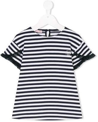 Miss Blumarine striped T-shirt