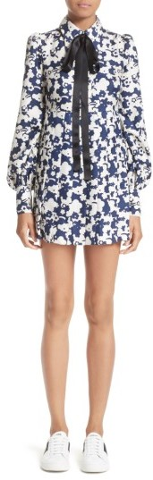 Marc Jacobs Women's Marc Jacobs Print Silk Babydoll Dress