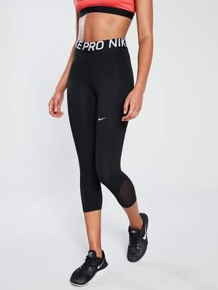 Nike Training Pro Capri - Black