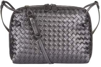 Bottega Veneta Metallic Nodini Cross Body Bag