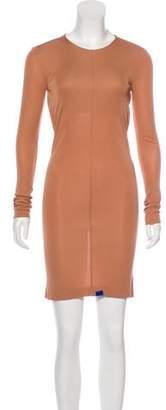 Alexander Wang Cutout-Accented Knee-Length Dress