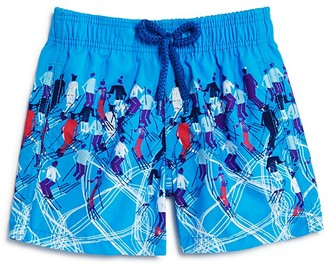 Vilebrequin Boys' Jam Ski Print Swim Trunks - Sizes 10-14 $155 thestylecure.com