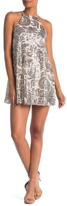 Show Me Your Mumu Gomez Sequins Mini Dress