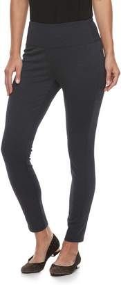 Apt. 9 Petite Tummy-Control High-Waisted Ponte Leggings