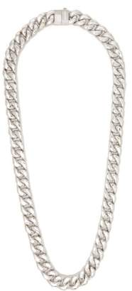 Classic Chain Necklace - Mens - Silver