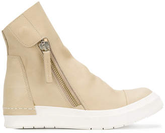 Cinzia Araia oversized tongue sneakers