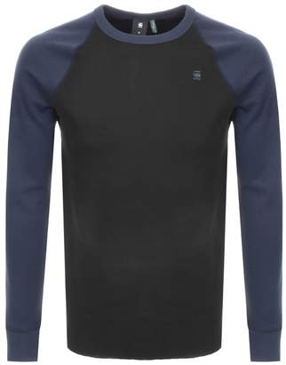 G Star Raw Long Sleeve Jirgi T Shirt Black
