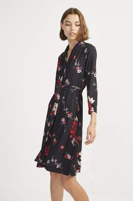 French Connection Floral Wrap Dress
