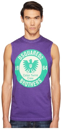 DSQUARED2 - Military Glam Sleeveless T-Shirt Men's T Shirt $270 thestylecure.com