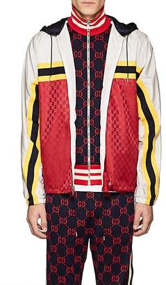 Gucci Men's GG Supreme Hooded Jacket