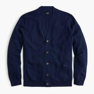 J.Crew Tall merino wool wide placket V-neck cardigan