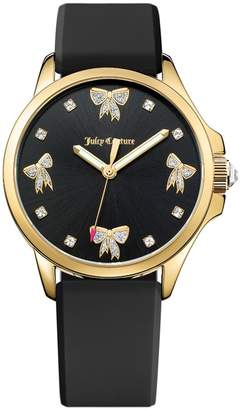Juicy Couture Glittering Bows Jet Setter Watch
