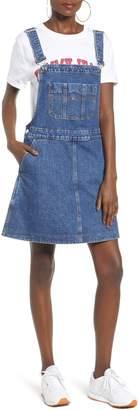 Tommy Jeans TJW Denim Dungaree Dress