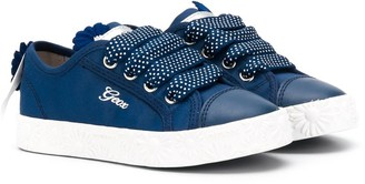 Geox Kids lace-up sneakers