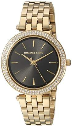 Michael Kors Womens Quartz Watch with Stainless Steel Strap MK3738