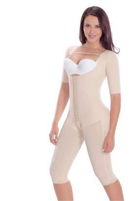 6e49823e41 Faja Colombianas MariaE Post Surgery Post partum Garment with Sleeves 9142 S