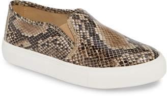 Mia Beca Snake Print Slip-On Sneaker