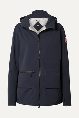 Canada Goose Pacifica Hooded Shell Jacket - Navy
