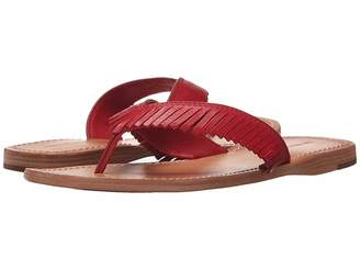 Frye Perry Feathered Thong Women's Sandals