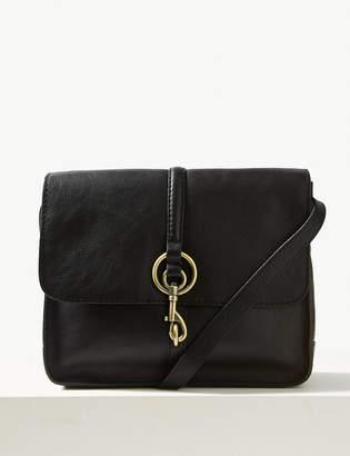 Marks and Spencer Leather Messenger Bag