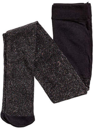 H&M Glittery Tights - Black