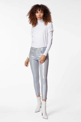 835 Mid-Rise Cropped Skinny In Iridescent Silverspoon