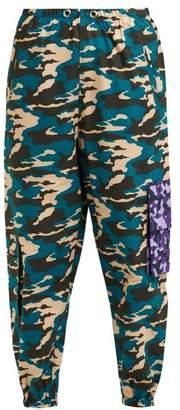 Natasha Zinko Camouflage Print Cargo Trousers - Womens - Multi