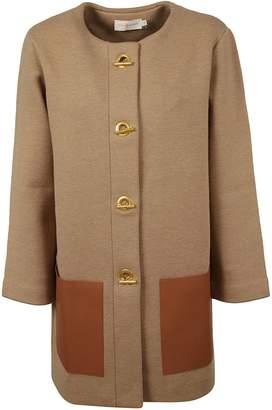Tory Burch Classic Leather Coat