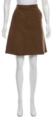 Balenciaga Knee-Length A-Line Skirt