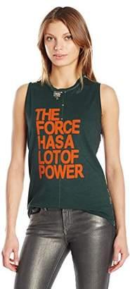 Freecity Women's The Force Has The Power Studded Slvss
