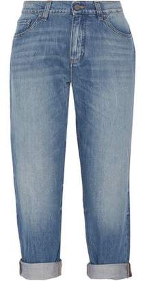 Victoria Beckham Victoria Neat Cropped Low-Rise Boyfriend Jeans